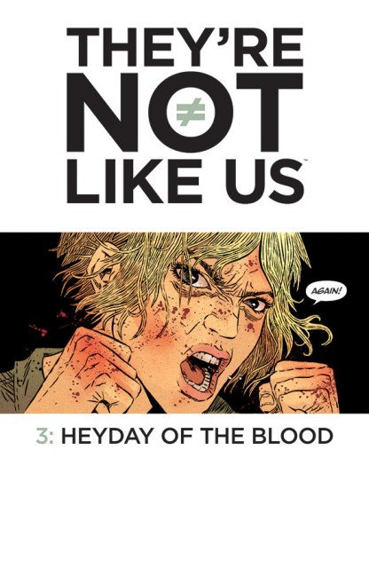 They're Not Like Us #3 cover