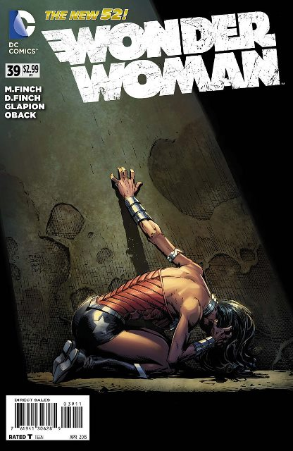 Wonder Woman #39 cover