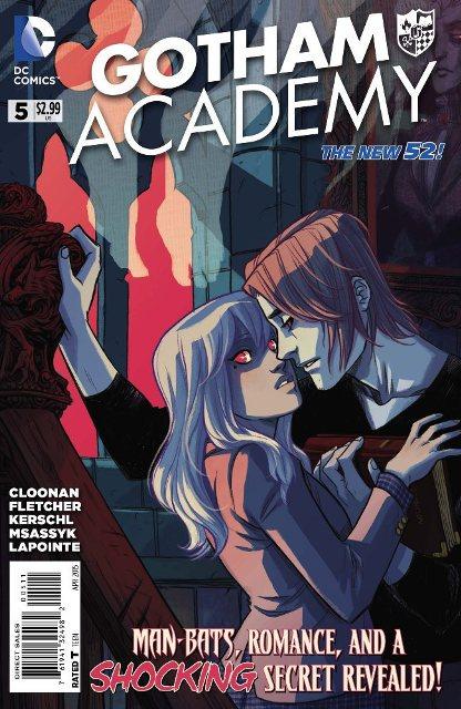 Gotham Academy #5 cover