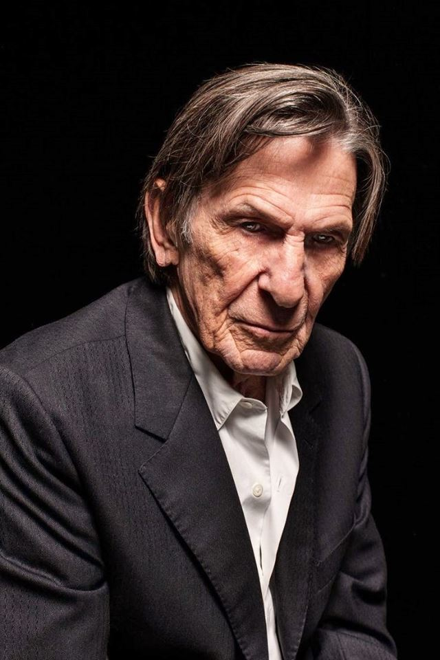 leonard-nimoy-self-portrait