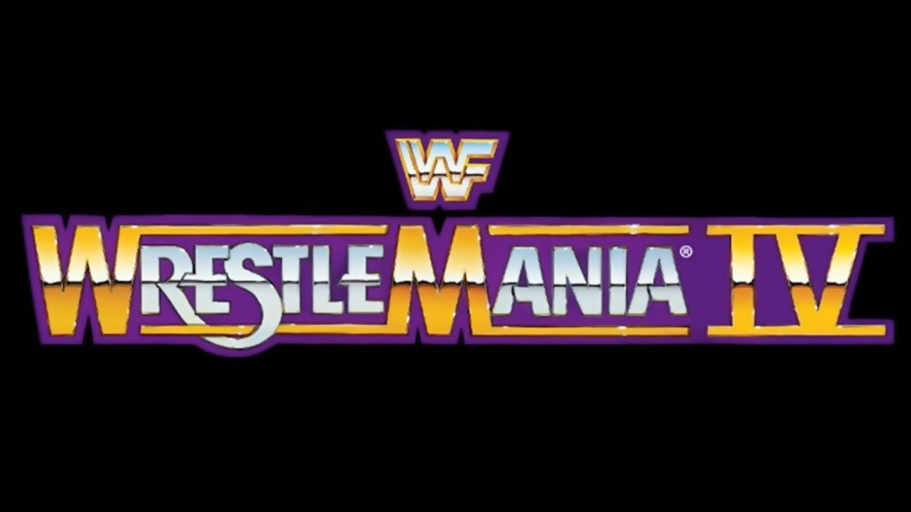 wrestlemania-4-logo