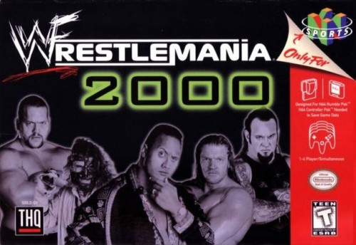 WrestleMania 2000 the video game? Fantastic. WrestleMania 2000 the wrestling show? Not so much.