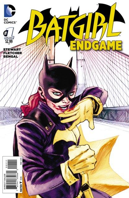Batgirl: Endgame #1 cover