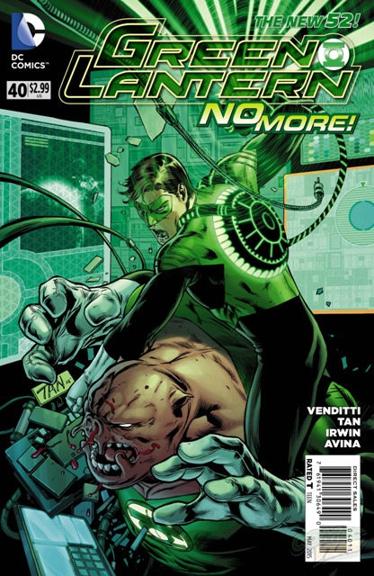Green Lantern #40 cover