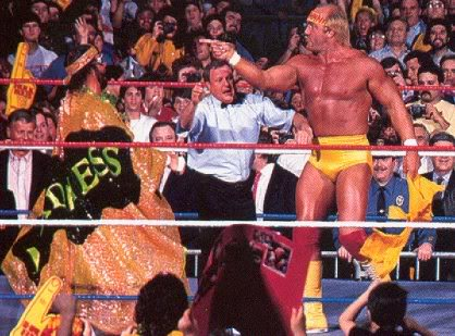 One match does not ... wait a minute, one great Hulkamania match DOES make for a good show!