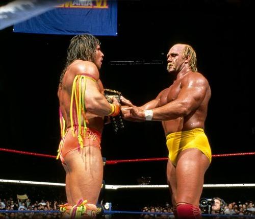 That damned Hulk Hogan never put anybody over!