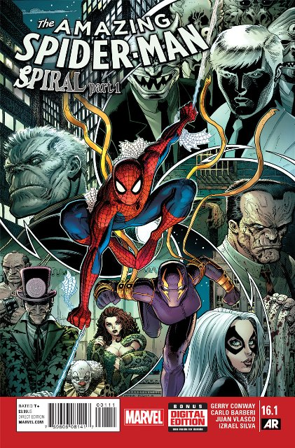 Amazing Spider-Man #16.1 cover