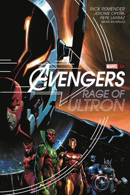 Avengers: Rage of Ultron cover