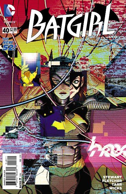 Batgirl #40 cover