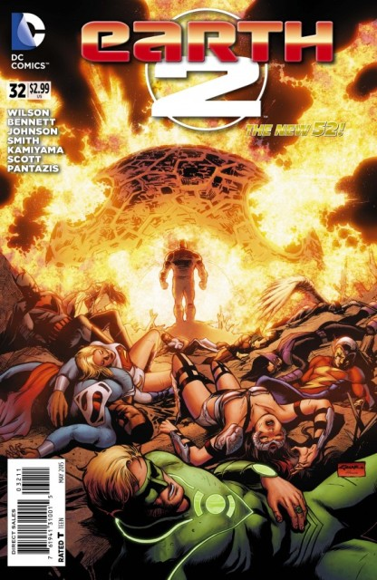 Earth 2 #32 cover