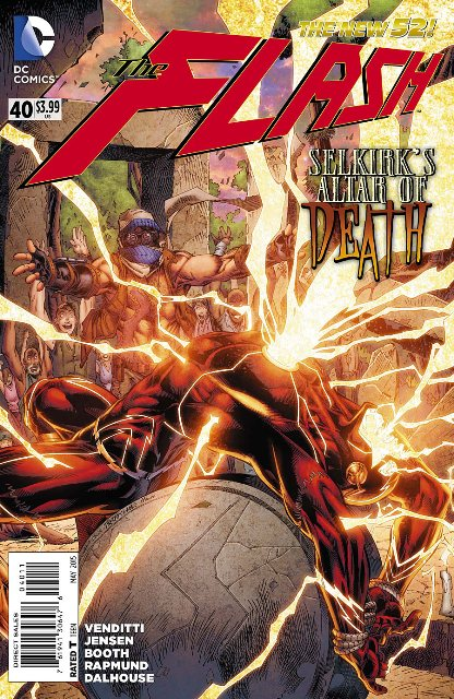 The Flash #40 cover