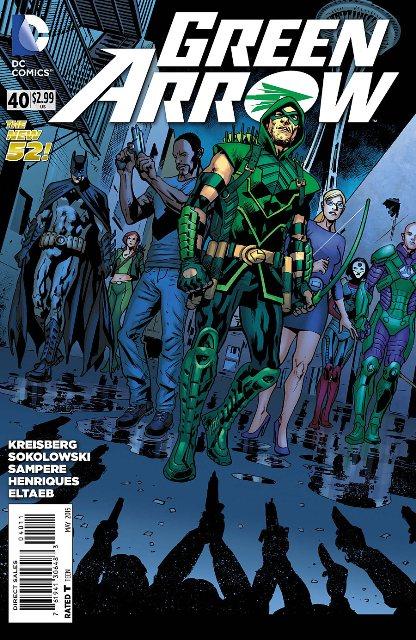 Green Arrow #40 cover