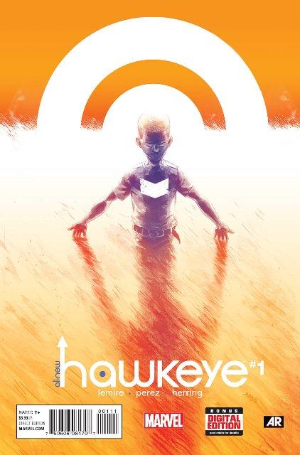 All-New Hawkeye #1 cover