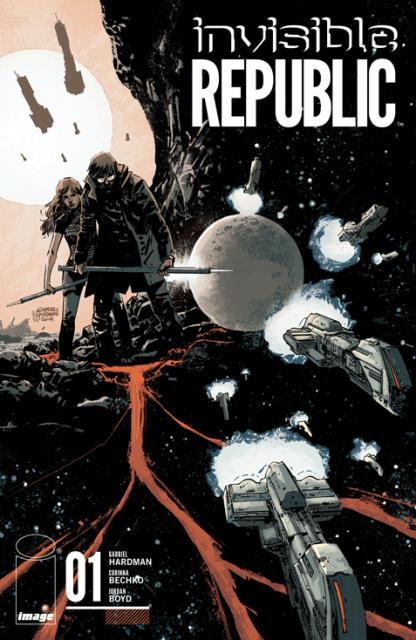 Invisible Republic #1 cover