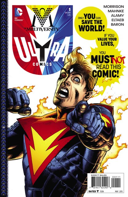 The Multiversity: Ultra Comics #1 cover