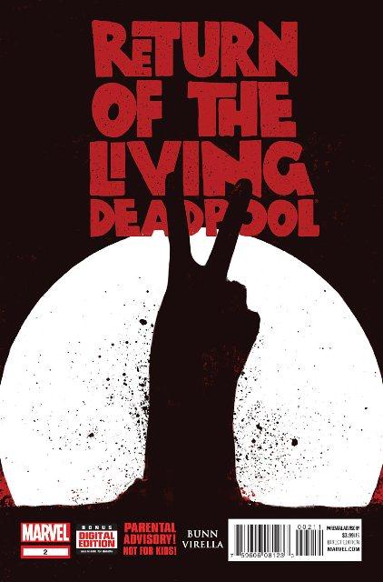 Return of the Living Deadpool #2 cover