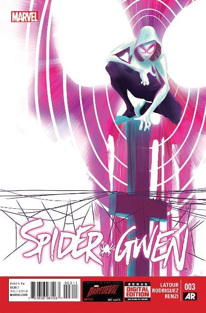Spider-Gwen #3 cover