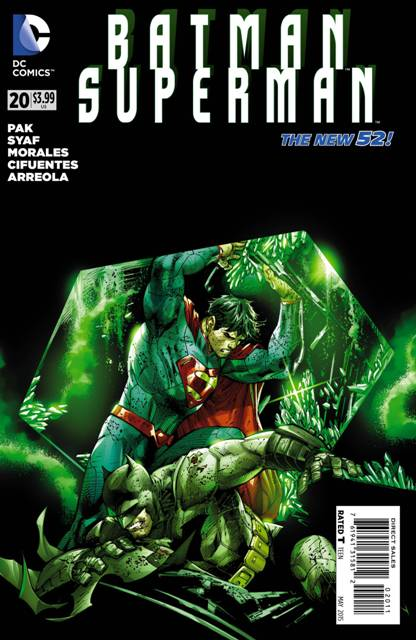 Batman/Superman #20 cover