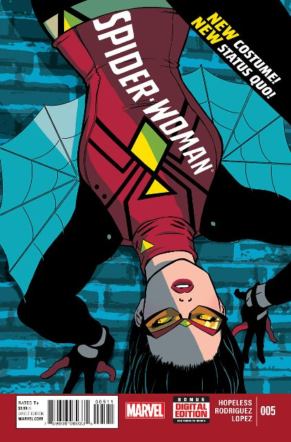 Spider-Woman #5 cover