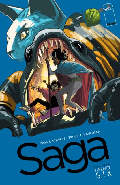 Saga #26 cover