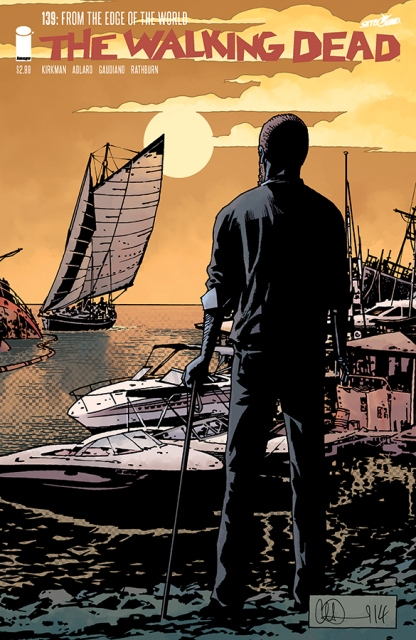 The Walking Dead #139 cover
