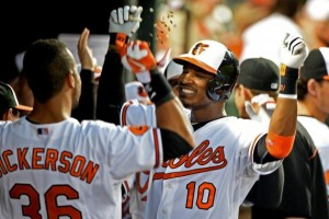 Adam Jones hopes to have more to celebrate with the Orioles in 2015.