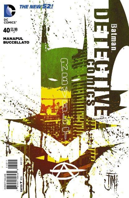 Detective Comics #40 cover