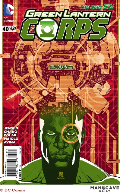 Green Lantern Corps #40 cover