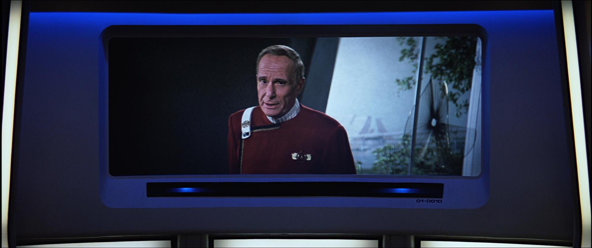 Admiral Bennett, in Star Trek V