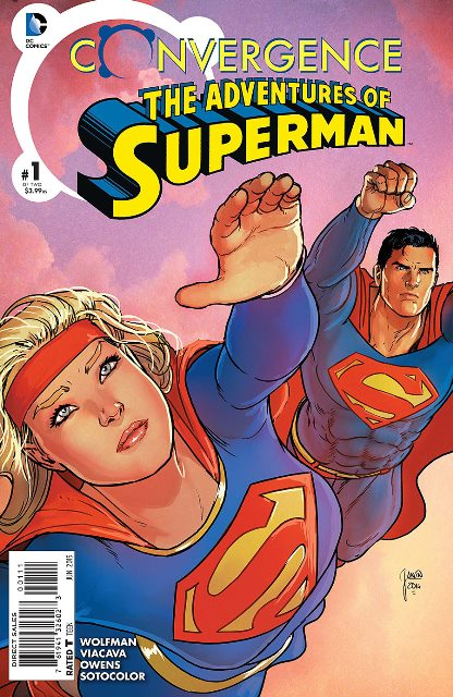 Convergence Adventures of Superman #1 cover