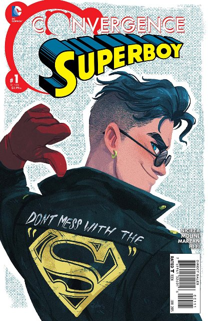 Convergence Superboy #1 cover