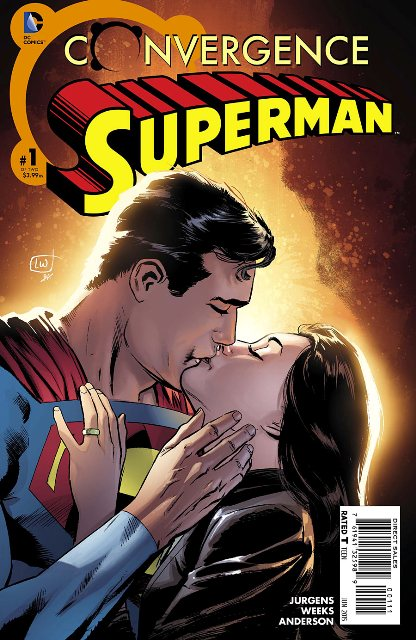 Convergence Superman #1 cover