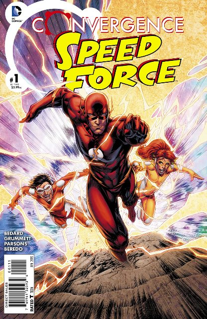 Convergence Speed Force #1 cover