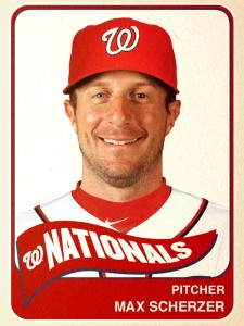 The Nationals hope new addition Max Scherzer can lead them beyond a division title.