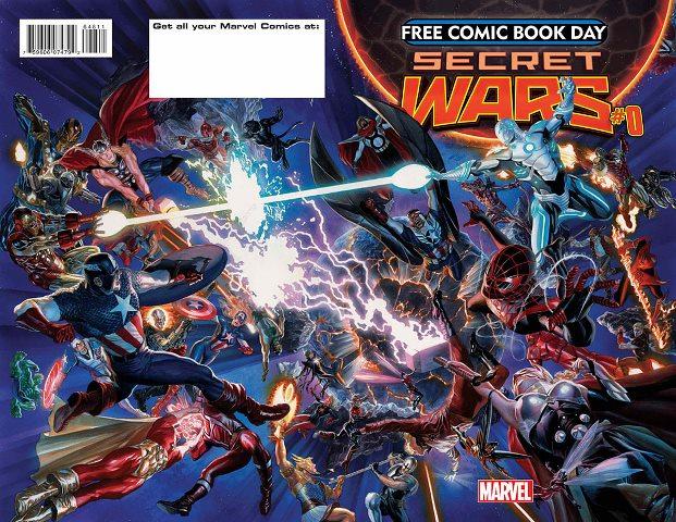 Secret Wars #0 cover