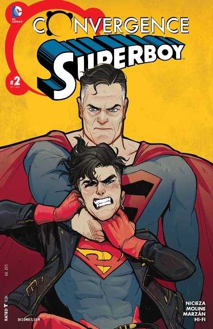 Convergence Superboy #2 cover