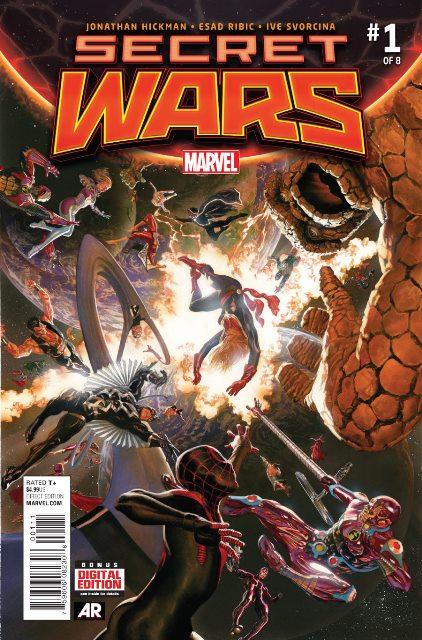 Secret Wars #1 cover