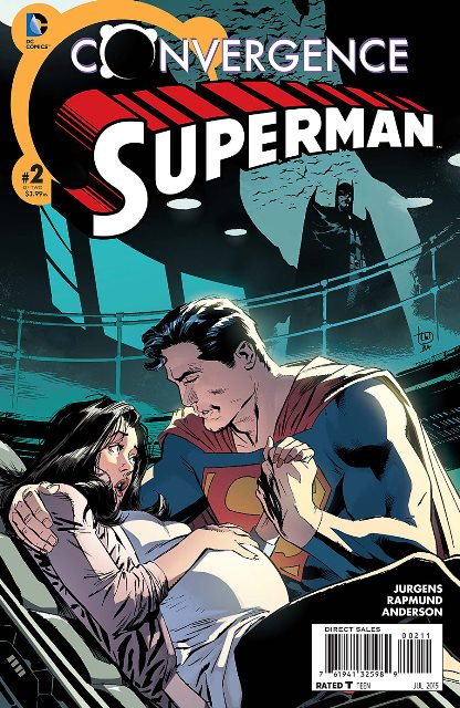 Convergence Superman #2 cover