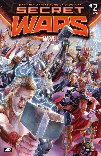 Secret Wars #2 cover