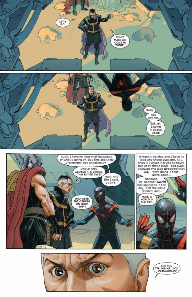 Secret Wars #3 scene 3