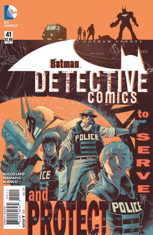 Detective Comics #41 cover