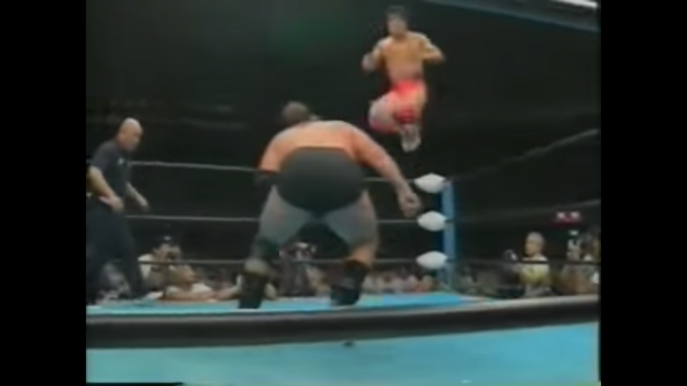 An all-time classic, but how high is Stan Hansen vs Kenta Kobashi?