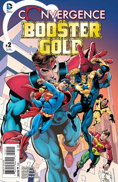 Convergence Booster Gold #2 cover