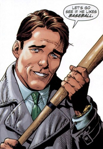 Earth One's Harvey Bullock.