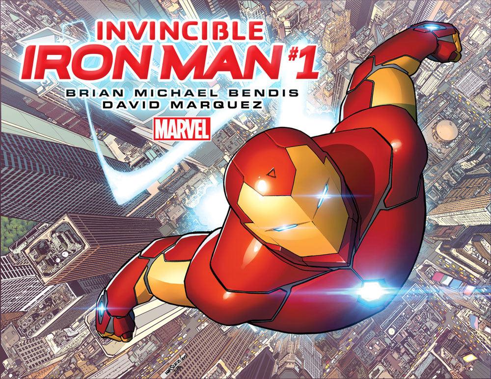 Invincible Iron Man promo