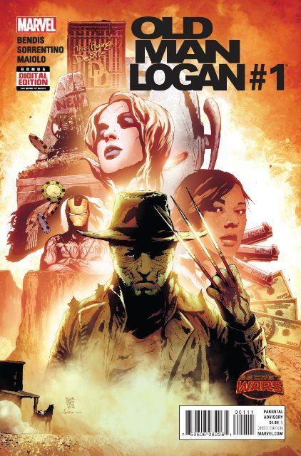 Old Man Logan #1 cover