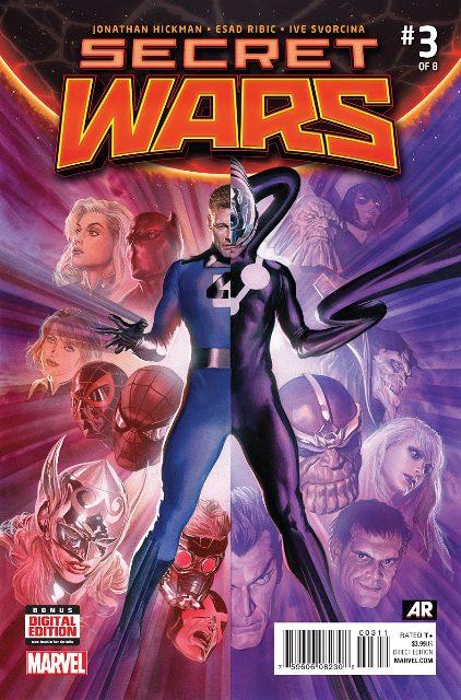Secret Wars #3 cover