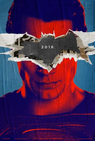 Batman v Superman pop art poster