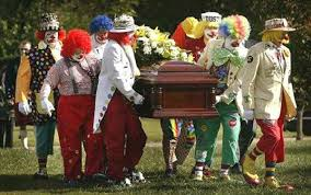 My funeral.