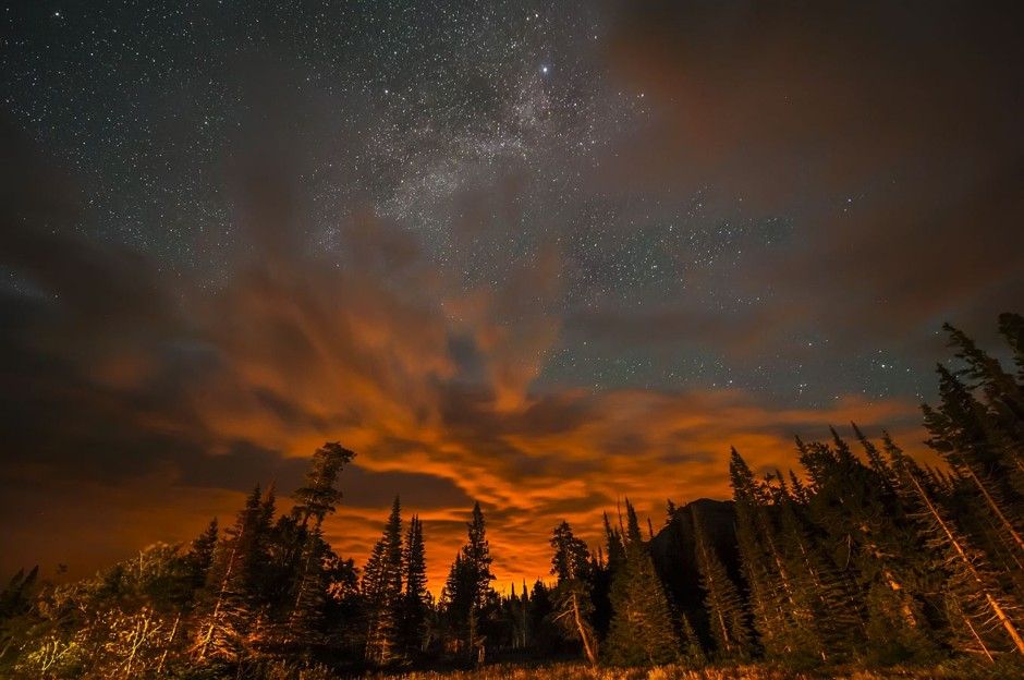 glacier-national-park-fire-stars